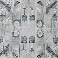 Салфетки бумажные с рисунком   Ретро клетки  Польша 33*33см