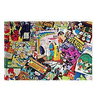 Светящиеся Картины Startonight Комиксы Коллаж Абстракция Печать на Холсте Декор стен Дизайн Интерьер