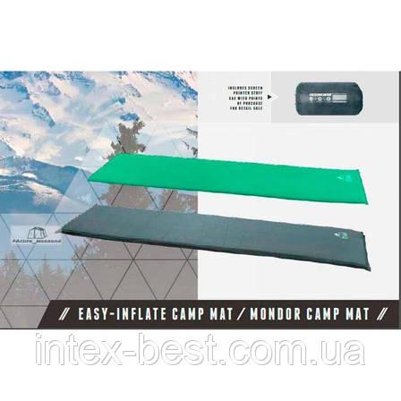 Самонадувной коврик 68058 Mondor Camp Mat Pavillo by Bestway, фото 2