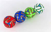 Мяч футбольный №2 Сувенирный Сшит машинным способом FB-0043-14 (№2, PVC матовый)