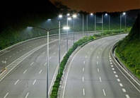 Освещение дорог и автотрасс