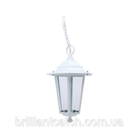 Светильник садово-парковый ERGUVAN-3, белый, черный