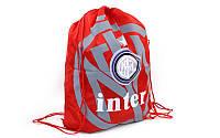 Рюкзак-мешок GA-1015-IN(2) INTER (PL, р-р 34х43см, красный)