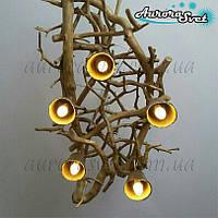 """Декоративный светильник из дерева """"АртКор"""""""
