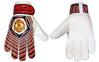 Перчатки вратарские юниорские FB-0029-08-R MANCHESTER защ.встав.на пал. (р-р 5-7, красный-черный)