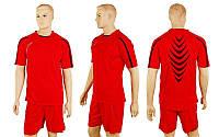 Футбольная форма CO-3117-R (р-р M-XXL, красный, шорты красные)