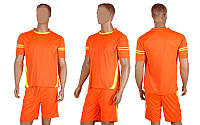 Футбольная форма Favorite CO-1603-P (PL, р-р M-XXL, коралловый, шорты коралловые)
