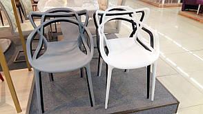 Стул пластиковый АС - 006, серый, фото 3