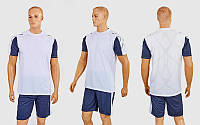 Футбольная форма Height CO-1014-W (PL, р-р M-XXL, белый-серый, шорты серые)