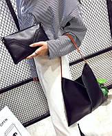 Отличная сумка с вырезом и шикарным клатчем в комплекте 2 в 1. Хорошее качество. Доступная цена. Код: КГ1166