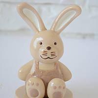 "Шоколадная фигура ""Зайчик"" элитный шоколад. Размер 79х79х132мм,вес 250гр  ст.39"