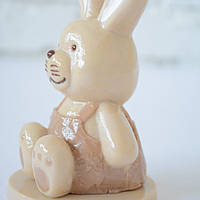"Шоколадная фигура ""Зайчик"" классическое сырье.Размер 79х79х132мм,вес 250гр ст.39"
