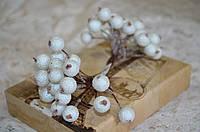 Букет Ягода в сахаре. Цвет - белый