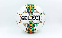 Мяч футбольный №5 PU ламин. ST BRILLANT SUPER ST-5845 белый-салатовый-оранжевый (№5, 5 сл.)
