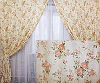 """Комплект готовых штор коллекция """"Прованс""""   Код 104ш"""