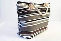 Женская полосатая сумка