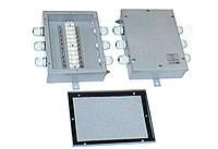 Коробка соединительная КС-12-10, IP54, 12 контактов, 10А, стальная, 170x125x45мм