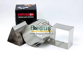 Набір металевих форм для гарніру (3 шт./наб.) (коло, квадрат, трикутник) Empire (EM-9681)