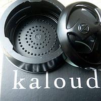 Kaloud Lotus калауд лотос черный рифленый для кальяна новая модель в упаковки
