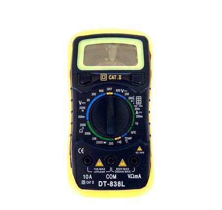 Мультиметр DT 838L, фото 2