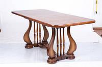 Стол обеденный раскладной Арфа (сосна)