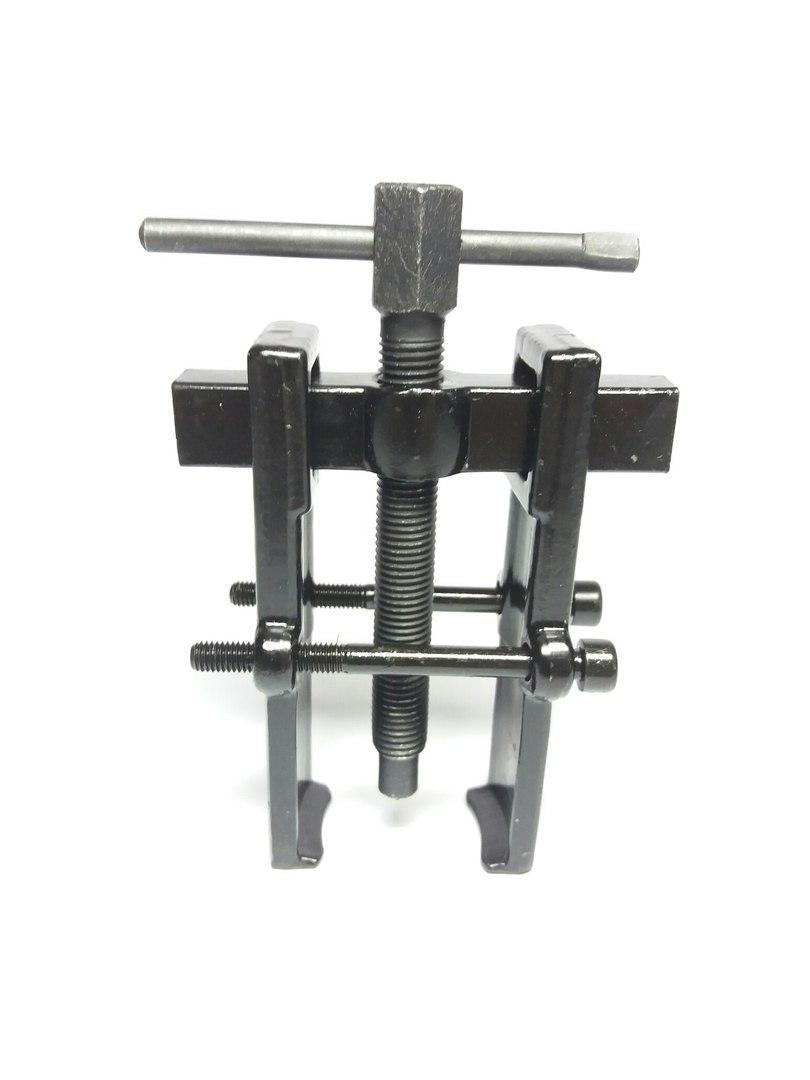 Съемник подшипников двухлапый черный с двумя прижимными винтами 40х80