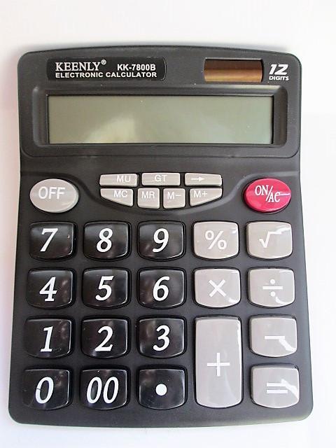 Калькулятор KEENLY 12-разрядный 7800 В
