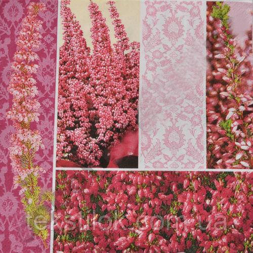 Салфетки бумажные с рисунком   Цветочное поле  Польша 33*33см