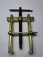 Съемник подшипников двухлапый золотистый с двумя прижимными винтами №3
