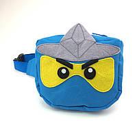 """Детская сумка на пояс BabyGoBags """"Ниндзяго"""" (0058)"""