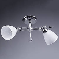 Люстра потолочная на 2 лампочки P3-37281/2C/CR+WT