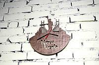 """Часы настенные """"New York city"""" диаметр до 40 см"""