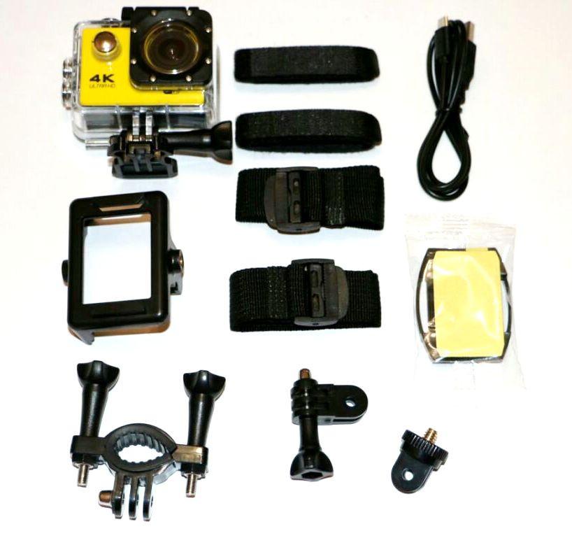 Экшн камера H9/H9R Ultra HD 1080P - Интернет магазин подарков и товаров для дома «Жораппа в Киеве