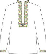 ЧСВП-36. Заготовка Чоловіча сорочка домоткана