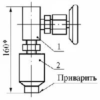 Отборное устройство давления 1,6-200-Ст20-Л (ЗК14-2-10-01)