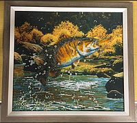 "Картина ""Рыбалка 3D"""