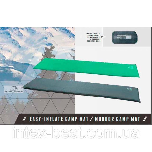 Самонадувной коврик 68056 Mondor Camp Mat Pavillo by Bestway