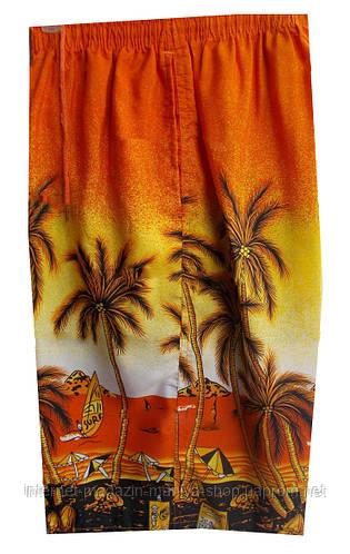 Шорты мужские пальмы (лето)