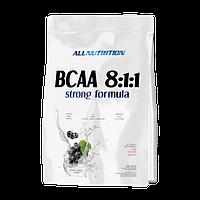 Аминокислоты Бца BCAA 8:1:1 Strong formula 200g  All Nutrition  кола