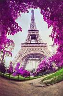 Набор алмазной вышивки Париж в цвету 30 х 40 см (арт. FS517) , фото 1