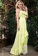 Красивое платье женское в пол в 3х цветах SV 1414-11, фото 1