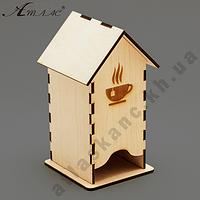 Дом для Чая с чашкой ТМ АТЛАС  F-0102