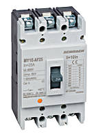 Силовой автоматический выключатель в литом корпусе Schrack тип AF, 3P, 18kA, 25A