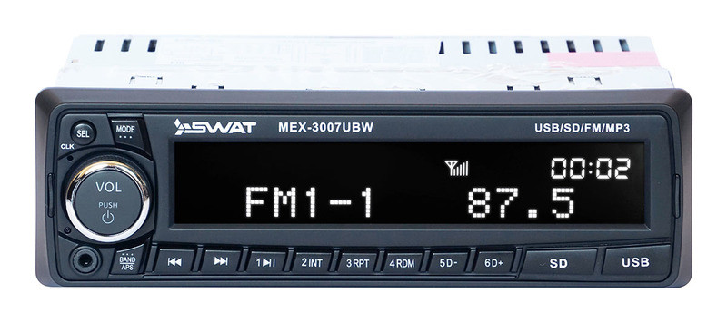 Магнитола SWAT MEX3007UBW