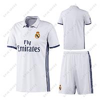Футбольная форма ФК Реал Мадрид. Основная форма 2017