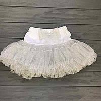 Детская  одежда оптом Юбка пачка пышная фатин для девочек оптом р.1-7 лет