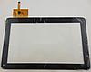 Оригинальный тачскрин / сенсор (сенсорное стекло) для Reellex TAB-10B-01 (черный цвет, самоклейка)