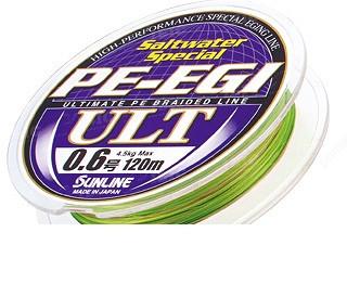 Шнур Sunline Super PE-EGI ULT 120m #1.0/0.165мм 7,7кг