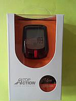 Велокомпьютер Top Action T6 черный