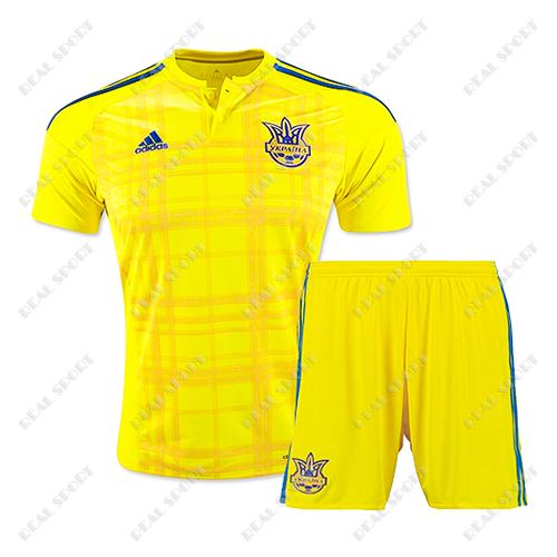 Футбольная форма сборной Украины основная желтая 2017